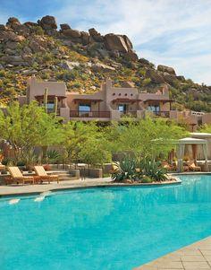 Cool off in our Sonoran Desert oasis at @Mandy Bryant Dewey Seasons Resort Scottsdale at Troon North