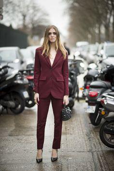 Street Style Trend: Anzüge