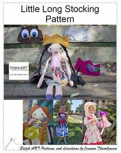 ** Regular price will be $8. Sale price ends Oct 21nd  Combine your love of free motion applique with sewing to make this unique and fun Wildling doll prince or princess. The pattern includes 3 hat patterns for some fun and unique felt hats, a skirt tutorial, and the doll pattern tutorial and pattern pieces. There are 4 pages to print and 11 pages of instructions with pictures.  Explore your creative side with this artsy wildling doll, We would love to see pictures of what you create with…