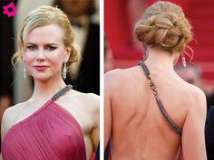 Peinado novia Nicole Kidman elegante