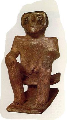 Figuras antropomorfas - Cultura SINÚ Buddha, Zen, Statue, Antigua, Culture, Sculptures, Sculpture
