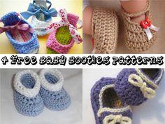 >> Roll-Tops by Hayley Missingham << >> Posh Crochet Baby Booties by Paula Daniele << >> Free Boy's Slippons Crochet Baby Booties Pattern by CrochetDreamz << >> Piggy Peeps by Anna Virginia << >>> More Creative Ideas