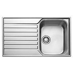 Franke Ascona Inset Sink 18 / 10 Stainless Steel 1 Bowl 860 x 510mm