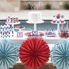 4th of July Printable Party Collection for $9.50 from The TomKat Studio Party Shop