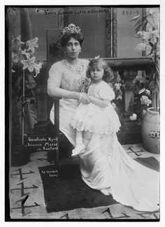 victoria melita & daughter