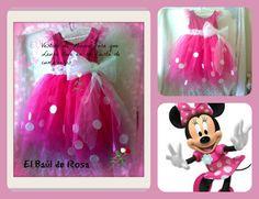 Vestido Minnie que Laura va a llevar en su cumpleaños