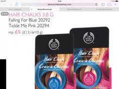 The Body Shop New Hair Chalks