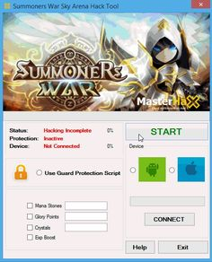 Summoners War Sky Arena hack is an instrument that has been made for all Android and ios gadgets. This trick project permits you to include Unlimited Crystals, Mana Stones and Glory Points ! Don't squander your cash to purchase it! Simply utilize our Summoners War Sky Arena Cheats! #freehacksgames