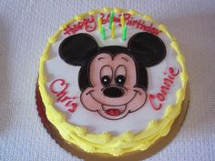 Mickey Mouse cake!