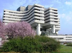 Modern architecture Belgrade, Military Medical Academy(VMA)