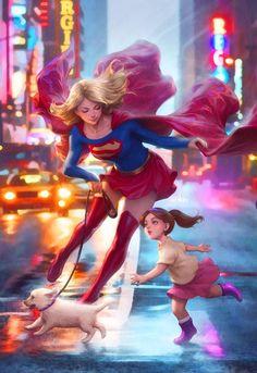 Supergirl. by Artgerm