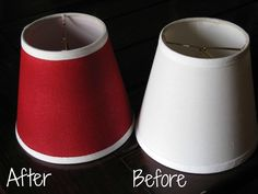 DIY: How to Paint Lamp Shades and Lamps