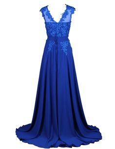 Dresstells Long Bridesmaid Dress Applique Prom Dress Evening Party Gowns Blush Size 14
