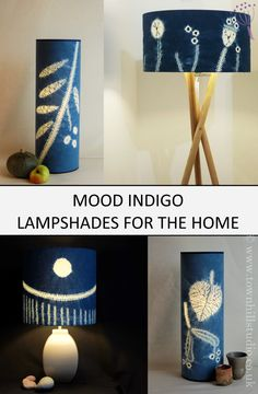 These contemporary designs add colour and focus to your living spaces. They complement any style of room design. Bring the outside in with these botanically inspired lamps. Let radiant colour lift your spirits.