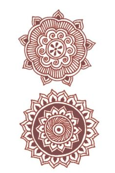 Will have to put these on something; Mehndi Tribal Tattoos - love the henna designs!