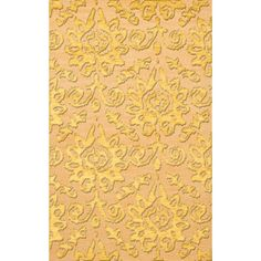 Dalyn Rug Co. Bella Beige/Yellow Area Rug Rug Size: 12' x 18'