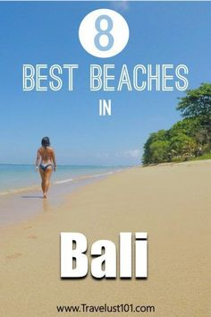 Best Beaches in Bali: Where to Go for Sunsets, Surf, Swim, and More! Bali Travel Guide, Solo Travel Tips, Asia Travel, Travel Advice, Travel Guides, Lembongan Island, Best Beaches To Visit, Paradise Beaches, White Sand Beach