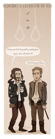 I think if i had to choose who I would want to die with I would choose Rosencrantz because he is my best friend and he has never hurt me.