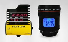 Want to keep time with a clock inspired by camera gear? Here's a roundup of timepieces based on cameras, lenses, and rolls of film.