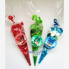 Pj masks birthday Pj masks party favors Pj masks goodie