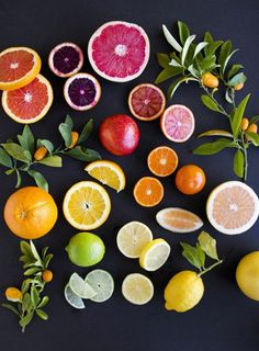 citrus food photography styling