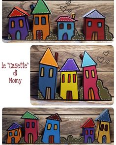 Painting On Wood, Wood Art, Country, Holiday Decor, Painted Wood, Handmade, Home Decor, Home, Art On Wood