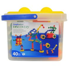 "Imaginarium Connect and Create Bucket - 40-Piece -  Toys R Us - Toys""R""Us"