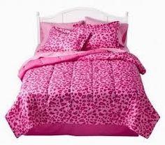 Pink Cheetah Print Bedset