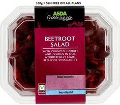 Asda Beetroot Salad Syns