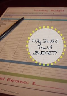 Are you trying to save money for retirement, vacation or your kids' college? Find out why you should be using a monthly budget and print your own free template to use. Financial Planning