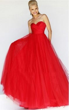 Welcome to QueenieProm Gorgeous Red Long Prom Dress page. You can place the order directly here. Red Gown Dress, Tulle Prom Dress, Ball Gown Dresses, Wedding Dresses Uk, Bridesmaid Dresses Online, Beautiful Prom Dresses, Prom Dress With Train, Perfect Prom Dress, Long Red Evening Dress