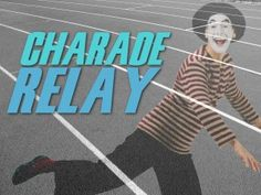 charade relay game