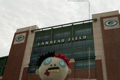 Zombie outside of Lambeau Field