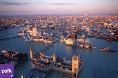 Cómo se vería Londres en el futuro