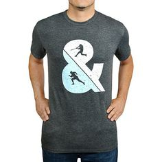 d06a7efc Baseballism Men's Hit & Run T-Shirt HIT & RUN Baseball Tee Shirts