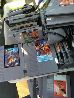 Gotta love yard sales! #NES