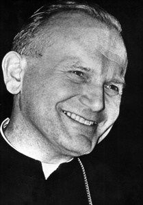 A vibrant Cardinal Karol Wojtyla is pictured in this undated photo. As the archbishop of Krakow, the future Pope John Paul II oversaw more than 300 parishes with priests, began construction of a new church and promoted dialogue with the Jewish commun Catholic Quotes, Catholic Art, Catholic Saints, Roman Catholic, Pope John Paul Ii, Paul 2, Papa Juan Pablo Ii, Juan Xxiii, Saint Quotes
