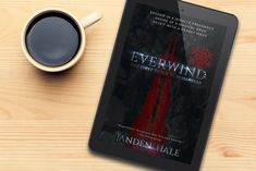Latest cover design for Everwind.