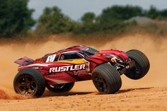 Rustler VXL: 1/10 Scale Stadium Truck with TQi Traxxas Link Enabled 2.4GHz Radio System | Traxxas