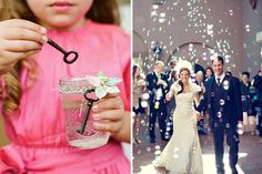 10 unusual and pretty alternatives to confetti to add sparkle and fun to your wedding. From lavender to ribbon wands these options are unexpectedly fab