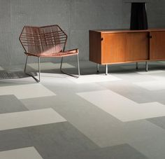 This Marmoleum Glue Down flooring is a great non-toxic alternative to vinyl, VCT or laminate flooring; Available in 3 sizes: x x and x tiles. Order this Marmoleum flooring at Greenhome Solutions today! Vct Flooring, Hall Flooring, Kitchen Flooring, Flooring Ideas, Kitchen Cabinets, Tile Bedroom, Floor Patterns, Tile Patterns, Floor Design