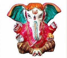 One look at this fabulously designed Ganesha statue from 1st Home and you will be hooked for sure! This statue is made of metal and comes in a lovely muticolors.