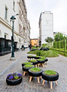 INVASIÓN VERDE    #green #plants #diy #garden #idea #recycling