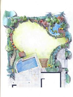 Site Development Plan Architecture, Small Garden Design, Art, Landscaping, Architecture, Art Background, Kunst, Performing Arts, Art Education Resources