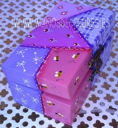 1000 images about cajas de madera on pinterest pew - Tecnicas de patchwork a mano ...