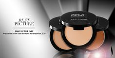 BEST PICTURE: Make Up For Ever Pro Finish Multi-Use Powder Foundation. #Sephora #Awards #RedCarpetBeauty