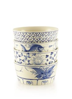 Vietnamese handpainted bowls