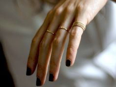 \\\ slender rings \\\