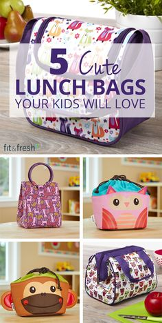 Make sure your child is ready for the upcoming school year with a fun new lunch bag! Enjoy free replacements for the entire year with our school year warranty. Shop at www.fit-fresh.com #fitfresh