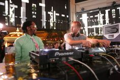 Mister @calvinharris multi-tasking at XS Las Vegas - September 2012.